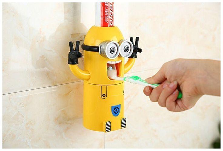 Dispensador de pasta de dientes Minion - WATYFA