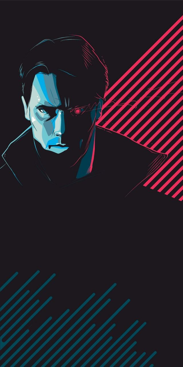 """""""Tech Noir""""  - Giclee edition of 84. by Craid Drake #terminator #scifi #80s"""