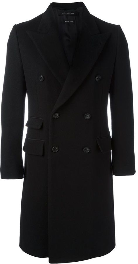 Marc Jacobs double breasted coat