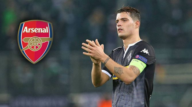 Arsenal willing to pay Borussia Monchengladbach 43m for Granit Xhaka [Sky Germany]