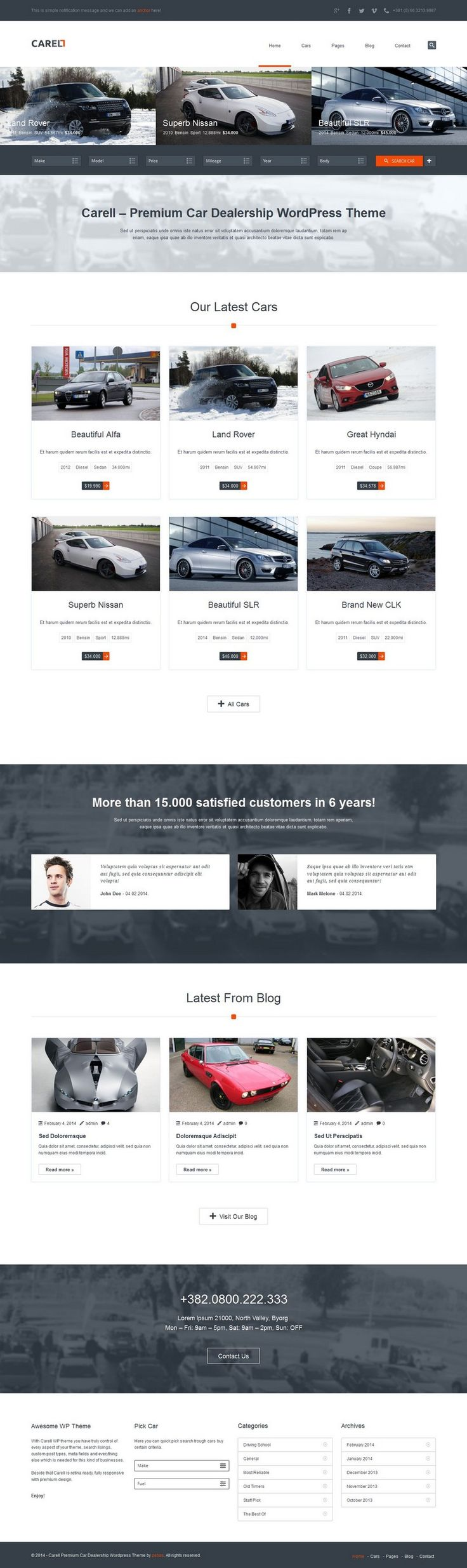 16 best images about Car Dealers Web Design on Pinterest | Volkswagen, Auto motor and Digital ...