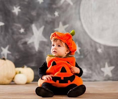 ¡Una entrañable calabaza de Halloween!