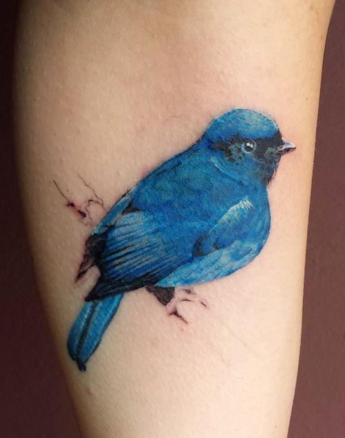 10 Amazingly Realistic Bird Tattoos | Tattoo.com