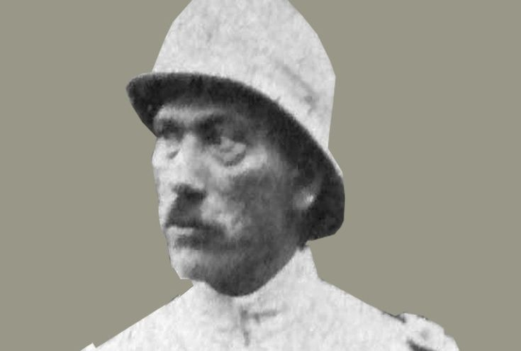 General Eduardo Ocaranza Jefe de la Infanteria vilista en 1915