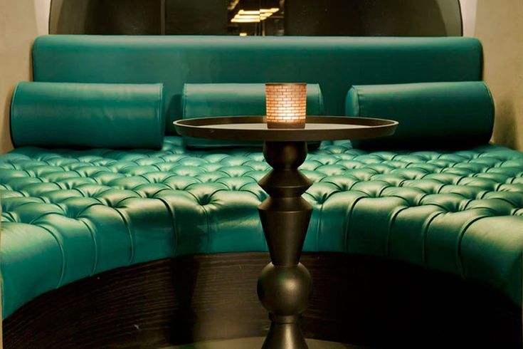 Booth Seating by Fitz Impressions at Dirty Martini, London | Fitz Impressions