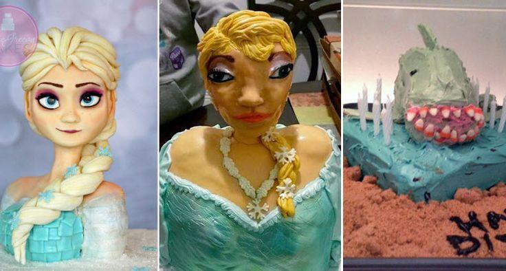20 TOTAL misslungene Kuchen, über die ihr euch an eurem Geburtstag garantiert nicht freuen würdet!