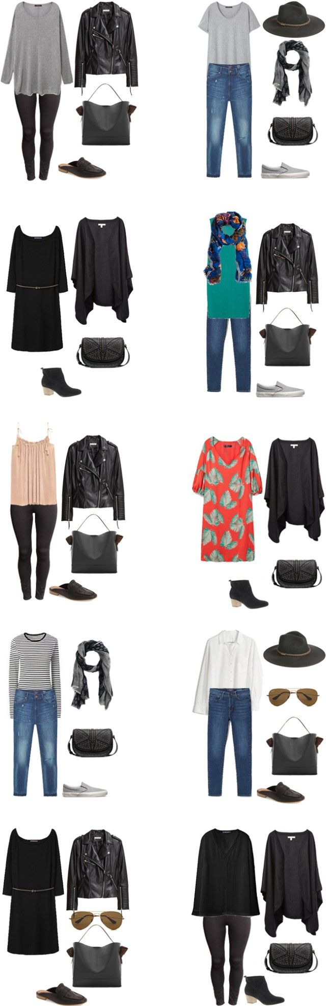 What to Wear in London Paris and Germany Outfit Options 11-20 #travellight…