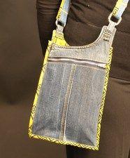 handy little recycle denim bag