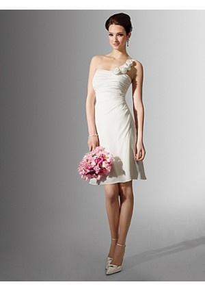 1000+ images about Short Wedding Dress on Pinterest  A line, Wedding ...