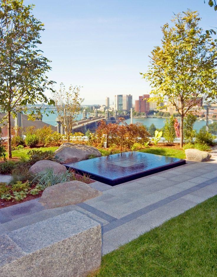 Healing Garden Water Feature