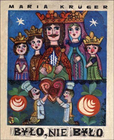 """Adam Kilian – Cover illustration for """"Było, nie było…"""" by Maria Krüger"""