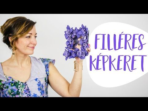 Kreatív Újrahasznosítás   Készíts filléres képkeretet - INSPIRACIOK.HU   Csorba Anita - YouTube