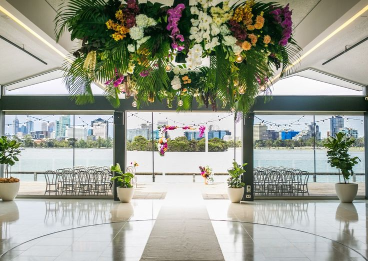 Located On Albert Park Lake With Uninterrupted Views Of Melbourne S City Skyline Carousel Stands Alone As Iconic Wedding Venue