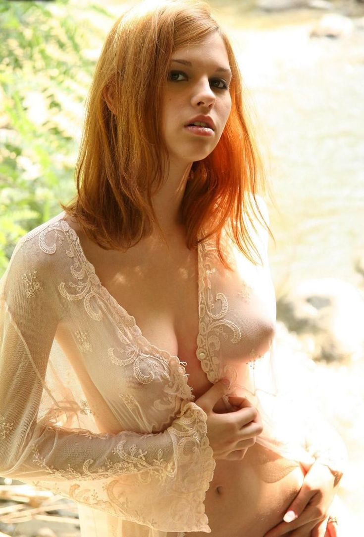 Nude blond and redheads women