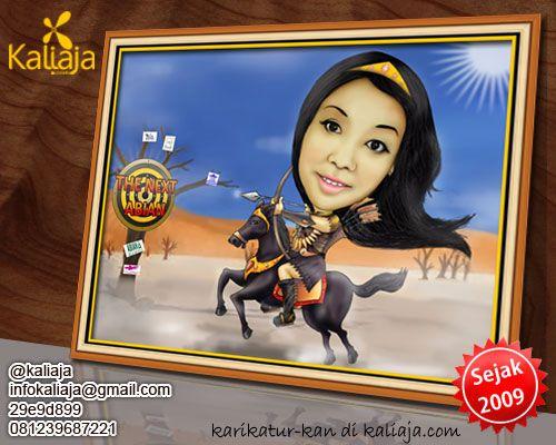 yang mau order KARIKATUR wajah DIGITAL seperti ini bisa cek dulu web nya www.kaliaja.com