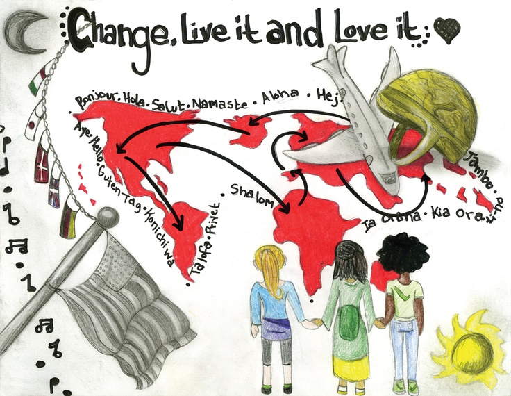 """Change"" by a military child.  Click here to submit your child's talents for display!   http://www.militarychild.org/parents-and-students/programs/the-call-for-the-arts"