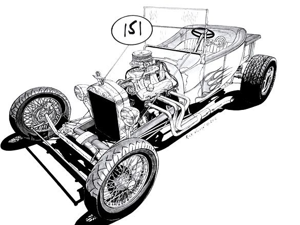 1080 best dap of drawings of cars  u0026 rods  5  images on