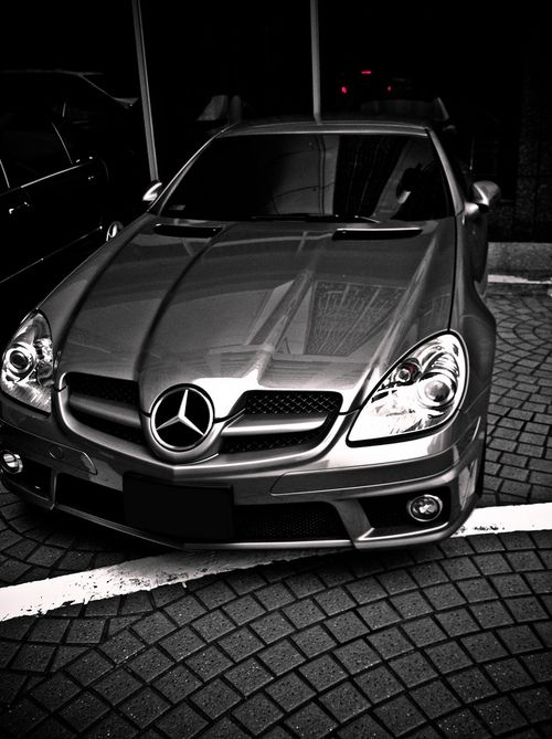 Mercedes-Benz SLK 55 AMG (by Shengti Lin)