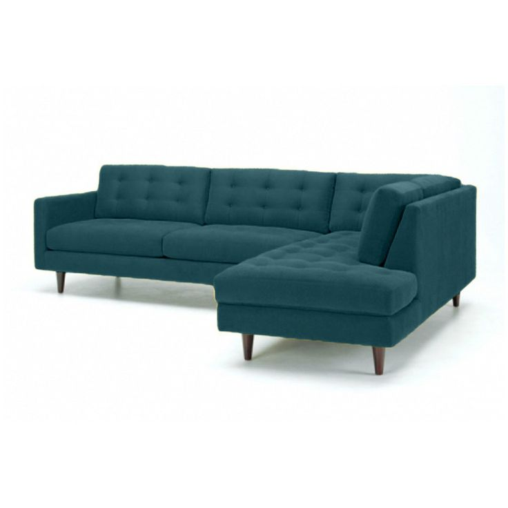 Teal sectional sofa sectionals and sofas leather sofa for Teal leather sofa