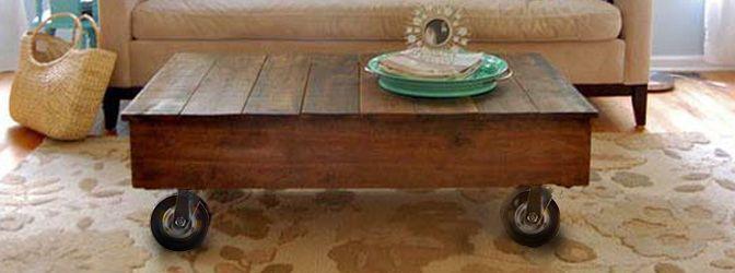 Zelf een salontafel maken van steigerhout