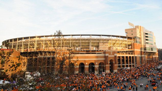 Neyland Stadium, The University of Tennessee, Knoxville, TN - Charles and I are going to at least 2 home games this Fall. GO VOLS!!!!!