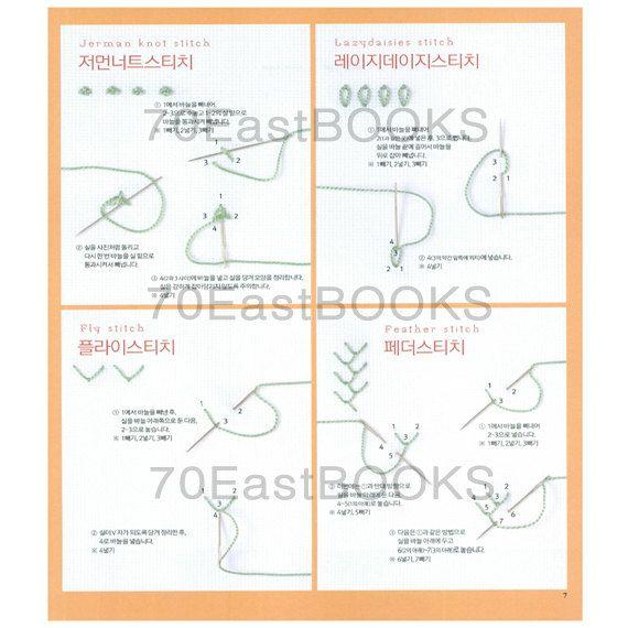 500 beste kleine und niedliche Stickereien Stich von 70EastBOOKS