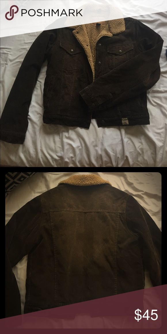 Authentic Corduroy Abercrombie and Fitch Jacket Men's size M, but worn as a unisex piece, perfect for east coast winters. Abercrombie & Fitch Jackets & Coats Jean Jackets