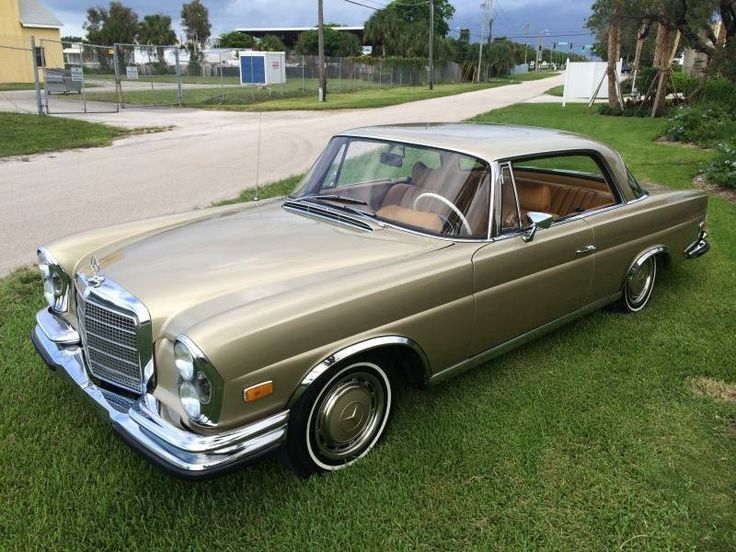 1970 Mercedes-Benz 280SE 3.5 Coupe Maintenance of old vehicles: the material for new cogs/casters/gears/pads could be cast polyamide which I (Cast polyamide) can produce