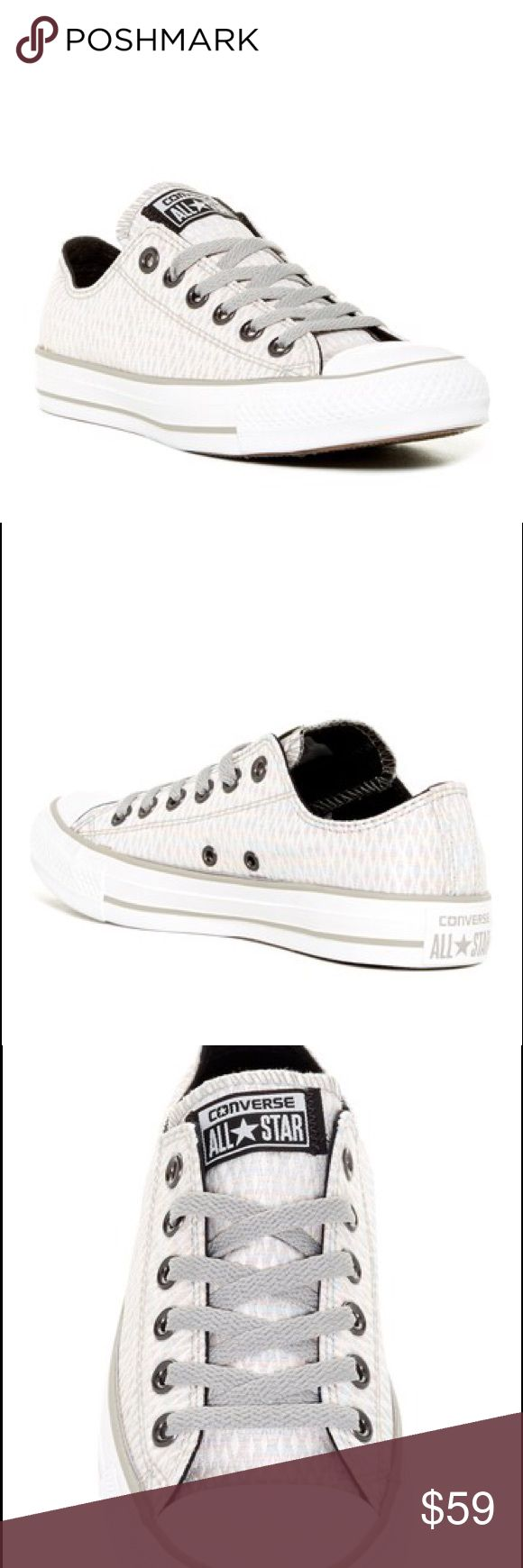 ☀️SALE! Converse Women Diamond Jacquard shoes Brand new size 10 womens Converse Shoes Sneakers