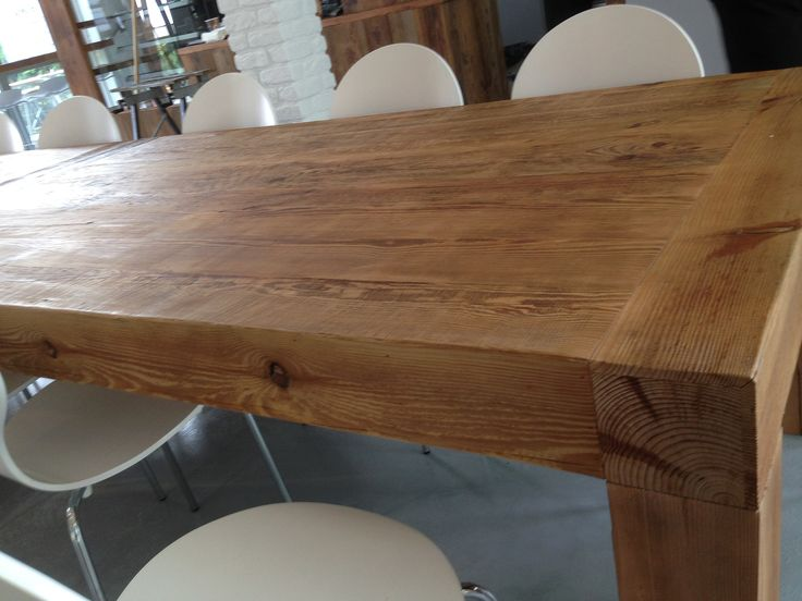 Stół ze starego drewna/ Table en vieux bois