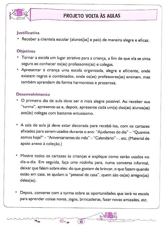 Atividades Educativas Para Educacao Infantil Letramento 5 E 6