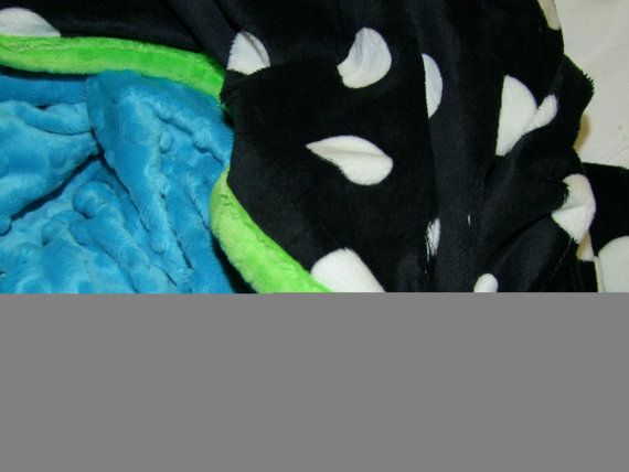 60 inches by 45 inch Teenager MINKY Blanket by tarascozycreations