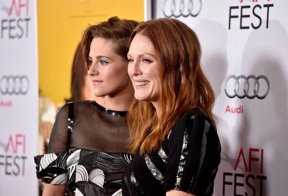 Kristen Stewart and Julianne Moore at the AFI Premiere of Still Alice. Nov 2014