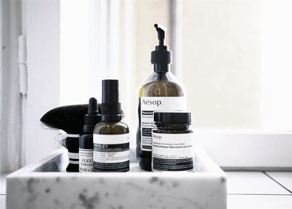 Aesop products: the new cool.