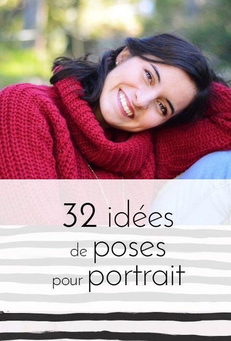 idées de poses pour portrait