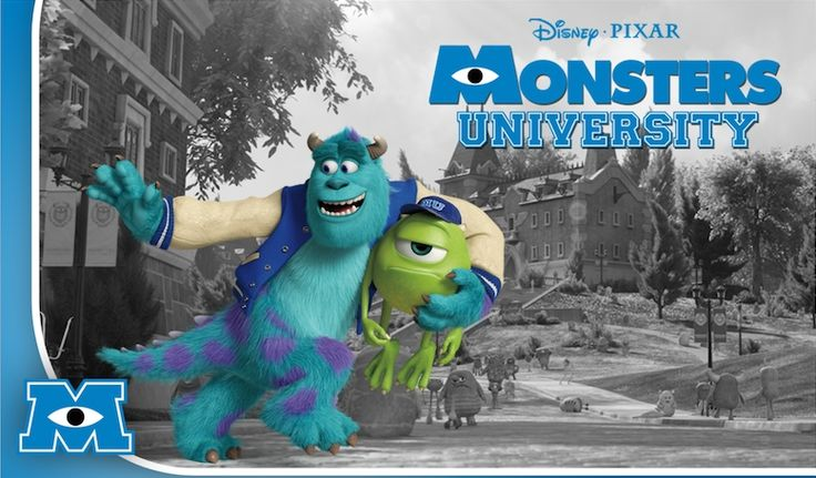 Monsters University | The newest trailer for Monsters University sheds some light on the ...