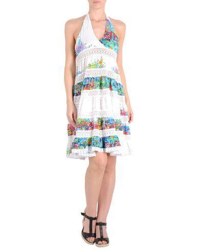 ¡Cómpralo ya!. MISS BIKINI Vestido de playa mujer. encaje, tejido, plisado, estampado multicolor, cierre con cordones , sin bolsillo , vestidoinformal, casual, informales, informal, day, kleidcasual, vestidoinformal, robeinformelle, vestitoinformale, día. Vestido informal  de mujer color blanco de MISS BIKINI.
