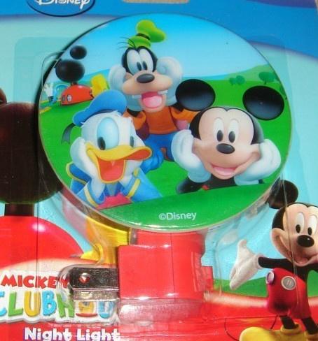 disney mickey mouse clubhouse night light kids room nursery decor childrens