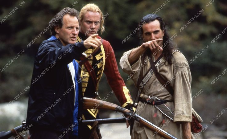 Daniel Day-Lewis director Michael Mann film The Last of the Mohicans 35m-7058