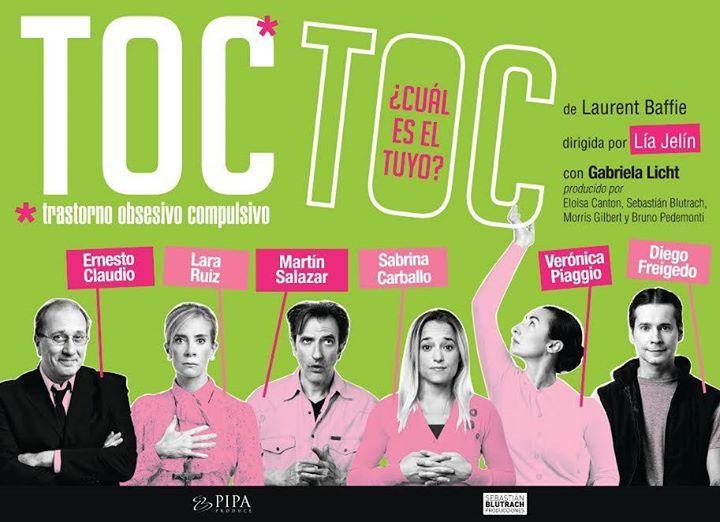 Toc Toc en Imperial Maipú TOC TOC: VIERNES 21 y SÁBADO 22 DE ABRIL A LAS 21:00HS La comedia más convocante de la historia del teatro argentino (superó los 1.264.767 espectad... http://sientemendoza.com/event/toc-toc-en-imperial-maipu/