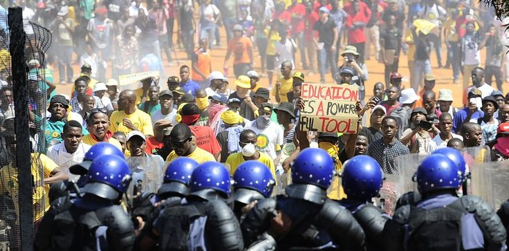SUNDAY TIMES - Why South Africa's universities are in the grip of a class struggle