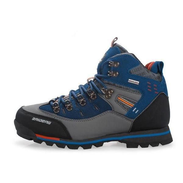 crostini Materiale Poster  Breathable Outdoor Hiking Shoes Camping Mountain Climbing Hiking Boots -  sheheonline | Leather hiking boots, Best hiking shoes, Hiking boots
