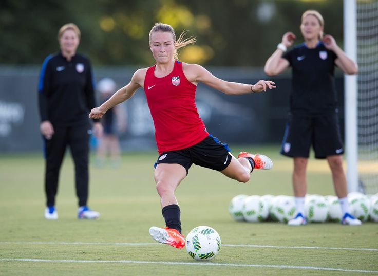 Emily Sonnett || USWNT Training Ahead Final Olympic Games Send-Off Match vs Costa Rica (07.21.2016)