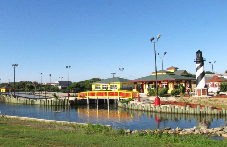 Outer Banks Paradise Fun Park is a fun place to visit while on your Outer Banks vacation. It boasts two brand new pirate-themed miniature golf courses (18 holes), Fast Electric Go-Karts, Spin-Zone...