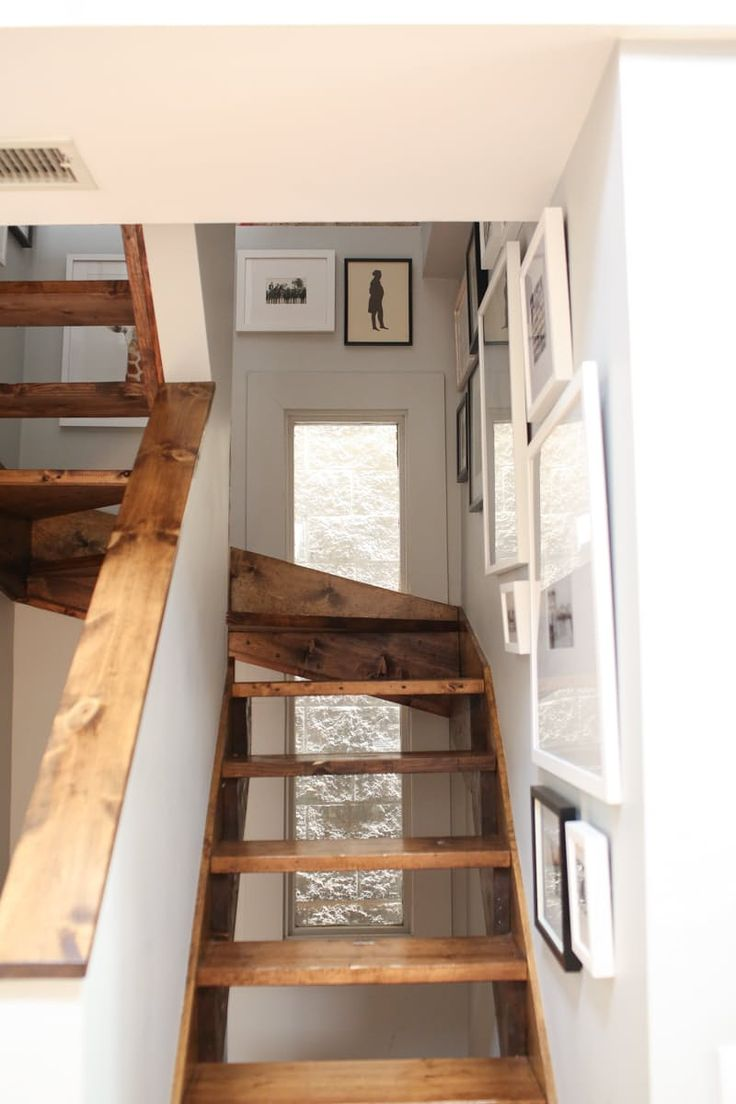 """""""I know this isn't technically 'DIY' but I put my entire staircase gallery wall up by eyeballing it and love how it turned out."""""""