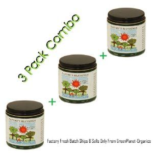 3 Pack Combo Nature's Blessings Hair Pomade by Nature's Blessings. $17.00. Original item ships & sells only from GreenPlanet-Organics. Super Fresh Batch Guaranteed. 3 Jars of Factory Fresh Nature's Blessing Hair Pomade. Skin Healing & Therapeutic. Wonderful Hair & Scalp Treatment. Freshest factory batch of Natures Blessings Hair Pomade straight from the factory, not from a reseller. Best Top-Shelf stock guaranteed thanks to our friends at Nature's Blessings. The...