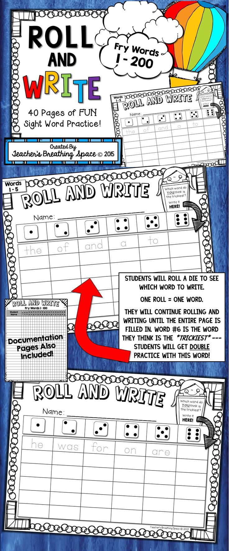 Worksheet Fry Word best 25 fry words ideas on pinterest sight 100 1 200 roll read and write word fluency game