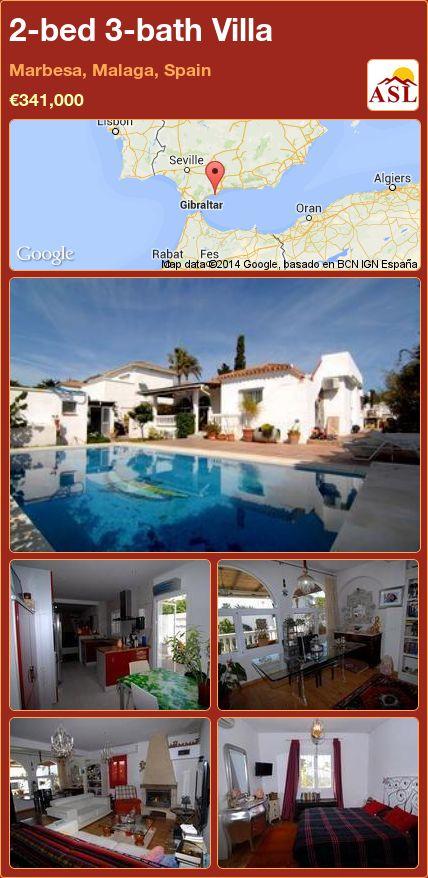 2-bed 3-bath Villa in Marbesa, Malaga, Spain ►€341,000 #PropertyForSaleInSpain