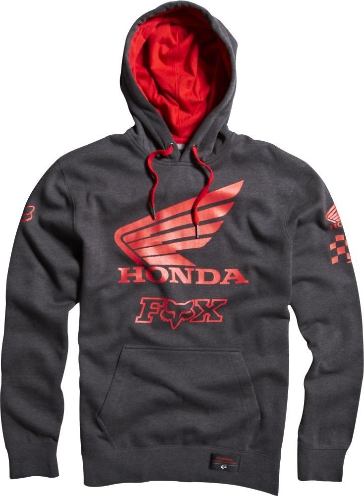 Fox Honda Premium Casual Apparel Mx Motocross Adult Pullover Fleece Hoody