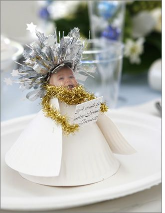 Paper plate table dec angel (template)